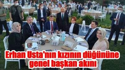 Usta'nın kızının düğününe Bahçeli ve Erdoğan dışındaki genel başkanlar katıldı