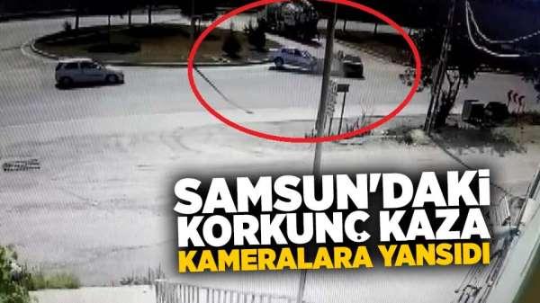 Samsun'da yaşanan trafik kazasında 7 kişi yaralandı