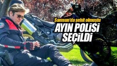 Samsun'da şehit polis Adem Keskin ayın polisi seçildi