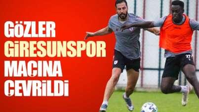 Samsunspor'da gözler Giresunspor maçına çevrildi