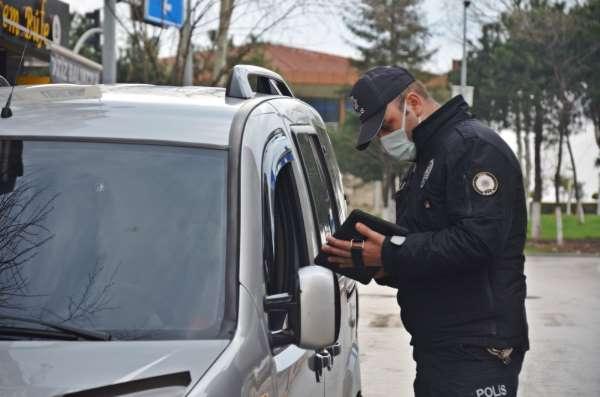 2 günlük yasakta 43 bin 798 lira ceza kesildi