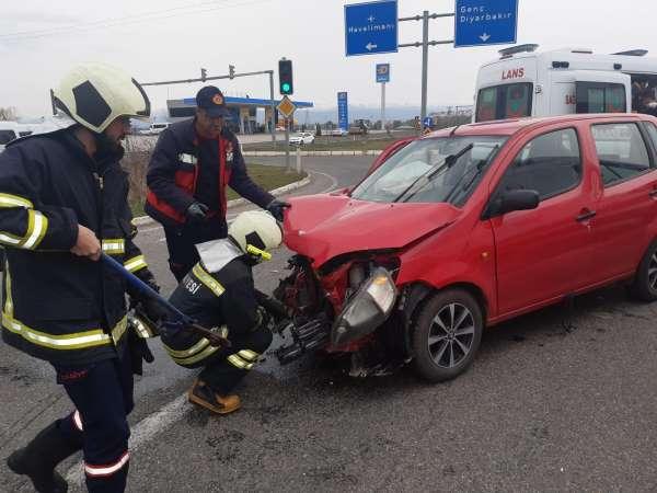 Bingölde trafik kazası: 5 yaralı