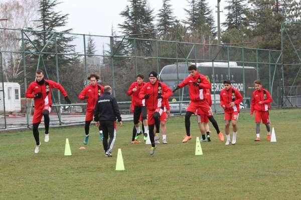 Eskişehirspor GZT Giresunspor maçı hazırlıklarına başladı
