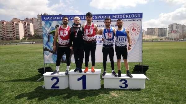 Görme Engelliler Atletizm Türkiye Şampiyonasında Kayseri rüzgarı