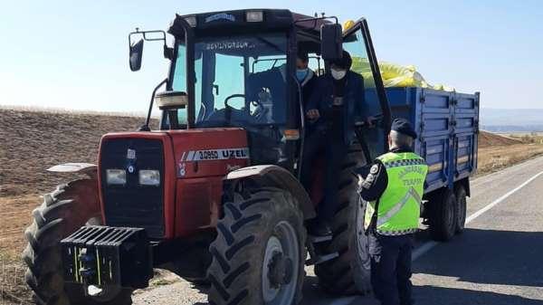 Kırıkkalede yıl traktör kazaları yüzde 63 azaldı
