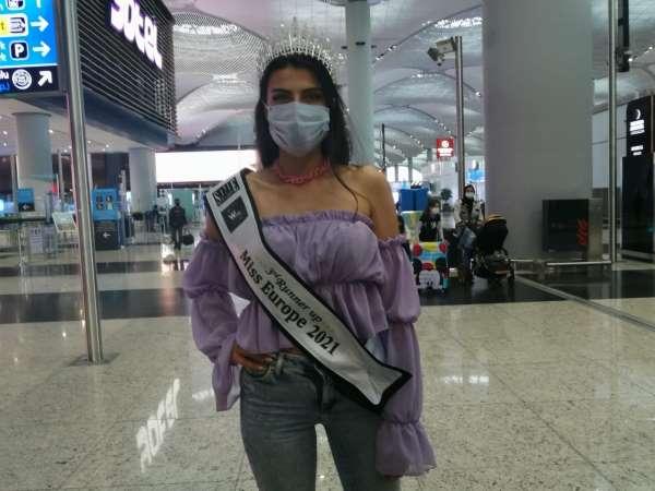 Lübnandaki güzellik yarışmasında Türk manken üçüncü oldu