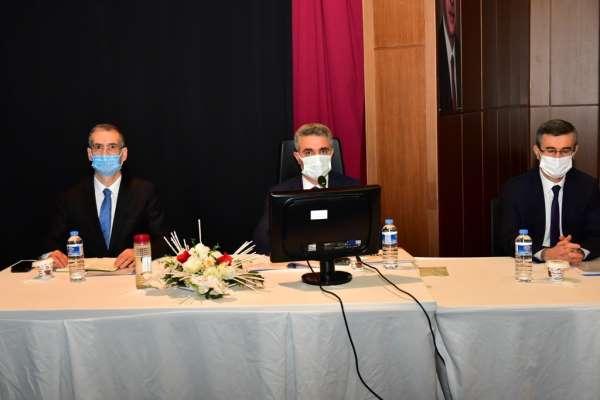 Malatyada 2021 yılı yatırımları masaya yatırıldı