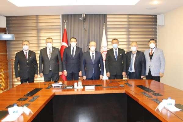 Marmaris Ticaret Odası üyeleri taleplerini Ankaraya iletti