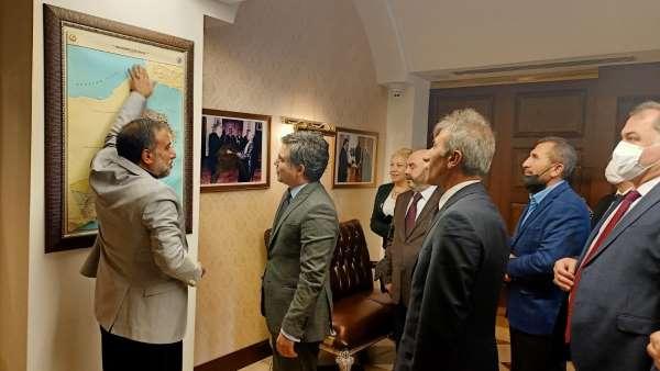 SANKON, büyükelçiler ile bir araya geldi