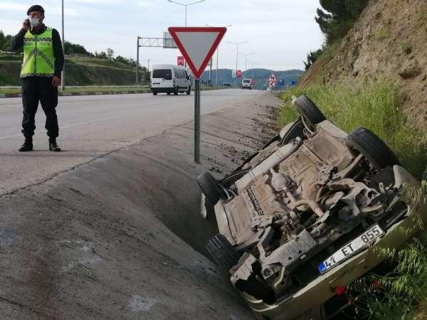 Çanda trafik kazası : 3 yaralı