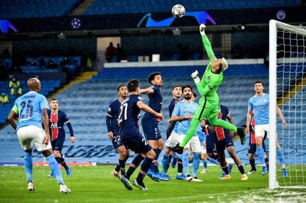 Devler Liginde ilk finalist Manchester City