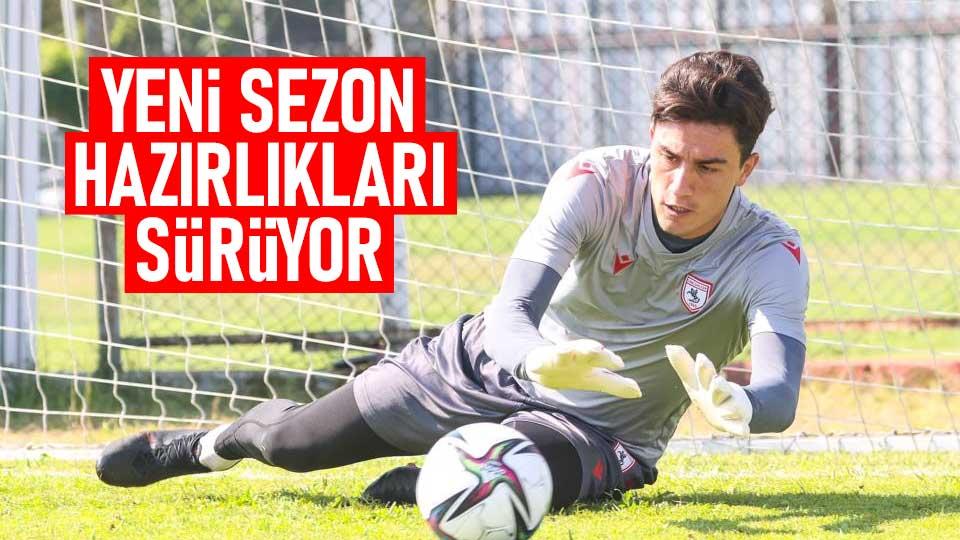 Samsunspor'da yeni sezon hazırlıkları sürüyor