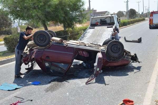 Didimde trafik kazası: 1 yaralı