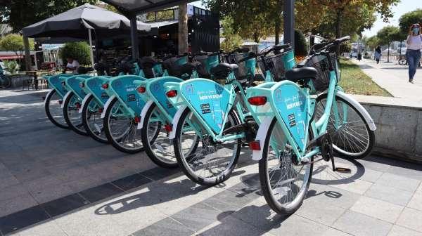 Düzcede akıllı bisikletler hizmete girdi