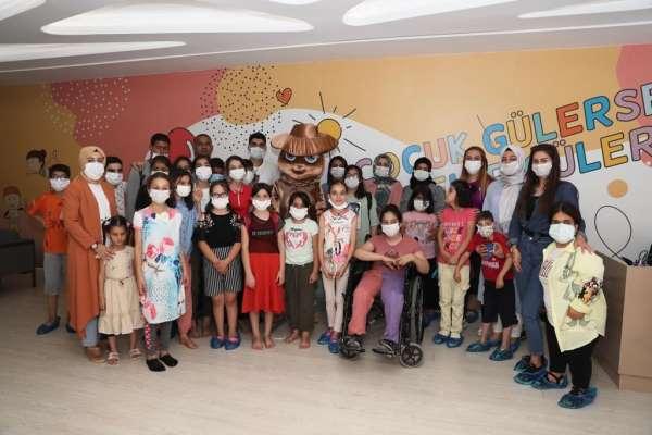 Mardinde özel çocuklar spor aktiviteleriyle gönüllerince eğlendi