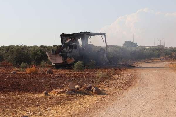 Suriye Sivil Savunması, terör örgütü PKKnın saldırı görüntülerini yayınladı