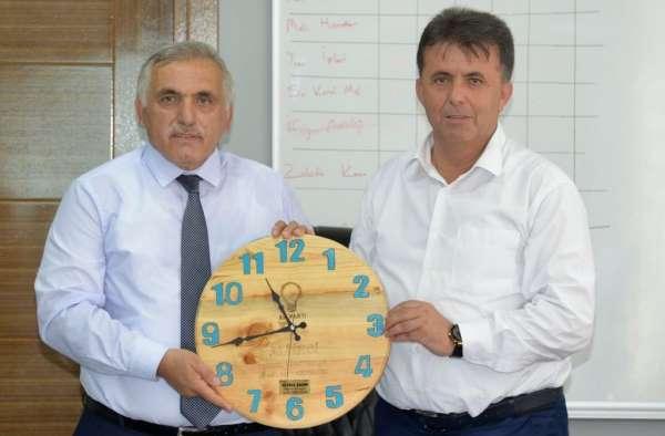 Türkelide ilçe belediye başkanları toplantısı yapıldı
