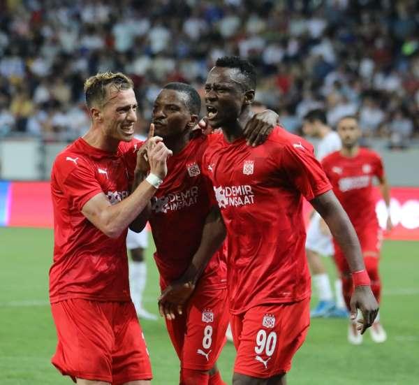 UEFA Avrupa Konferans Ligi: Dinamo Batumi: 1 - Sivasspor: 2