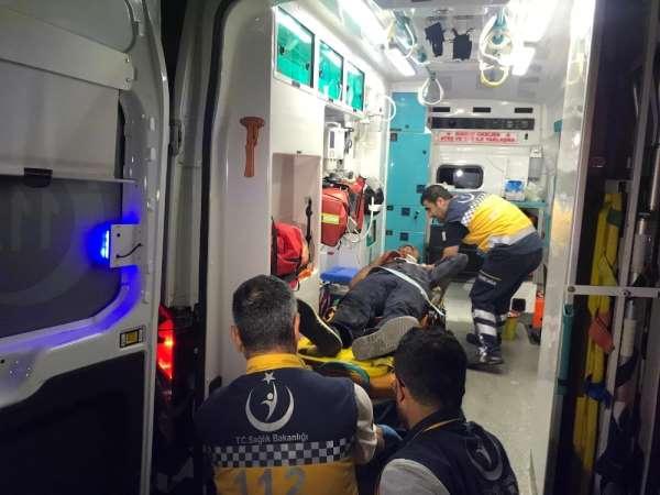 Arnavutköy'de göçmenleri taşıyan tır kaza yaptı, çok sayıda göçmen yaralandı