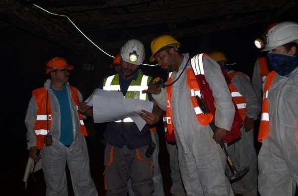 Maden mühendisleri terörden temizlenen dağlara çıkartma yaptı