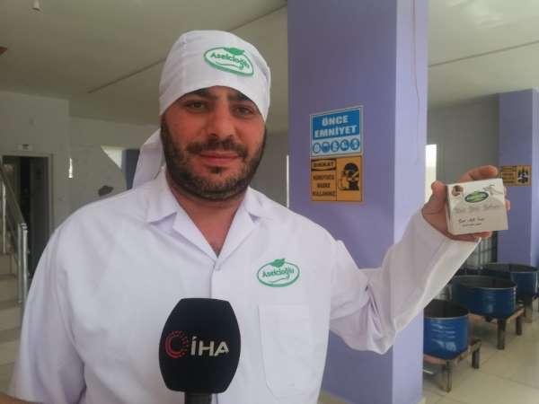 Organik keçi sütü sabunlar, gençliğin ve kadınların gözdesi