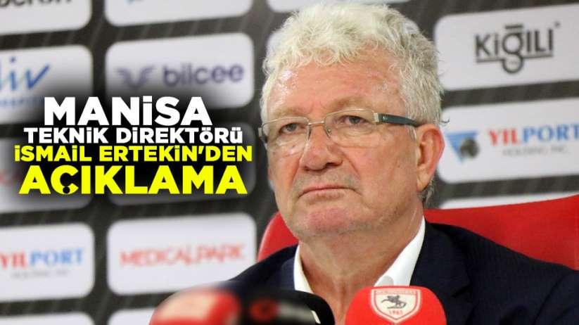 Samsunpor Manisa FK mac değerlendirmesi İsmail Ertekin