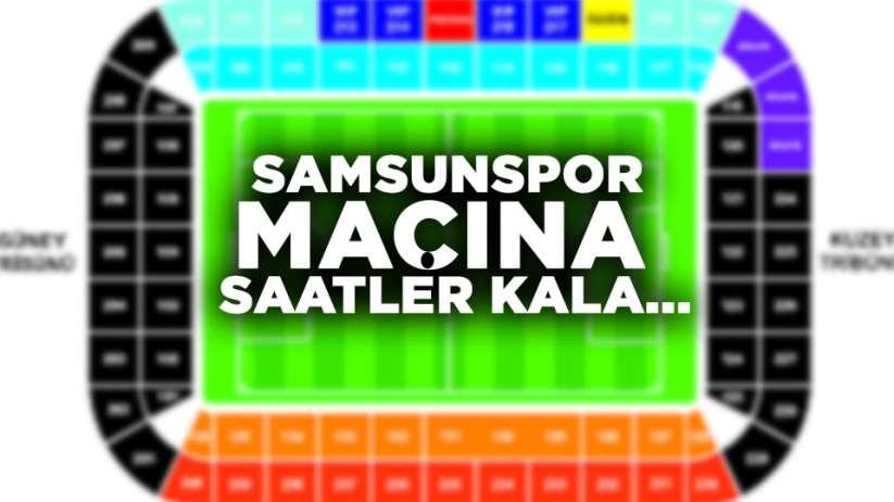 Samsunspor Manisa FK macına bilet kaldı mı? Kaç bilet satıldı?