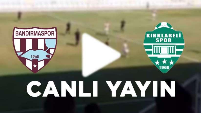 Şanlıurfaspor Kırklarelispor maçı canlı yayın