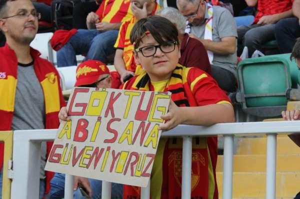 Süper Lig: Göztepe: 3 - İstikbal Mobilya Kayserispor: 0 (İlk yarı)