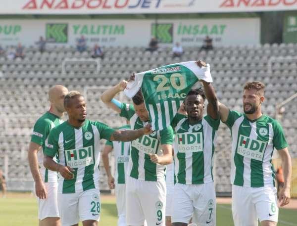 TFF 1. Lig: Giresunspor: 1 - Akhisarspor: 0