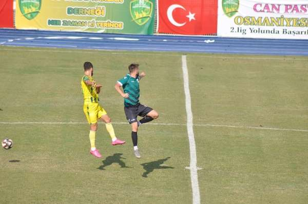 TFF 3. Lig: Osmaniyespor FK: 3 - Malatya Yeşilyurt Belediyespor: 1