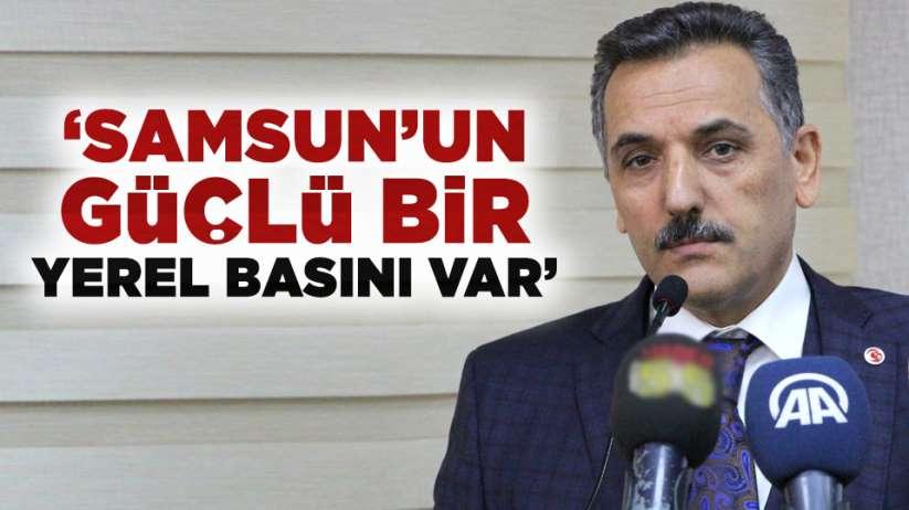 Osman Kaymak: 'Samsun'un çok güçlü bir yerel basını var'