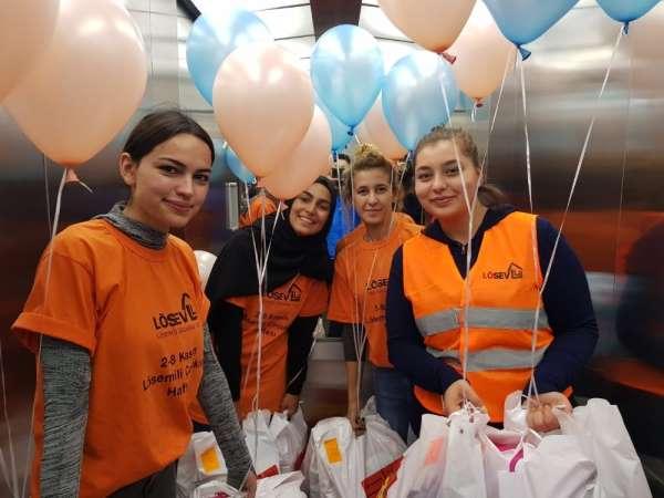 Erciyes Üniversitesi LÖSEV Fayda Topluluğu'ndan anlamlı ziyaret
