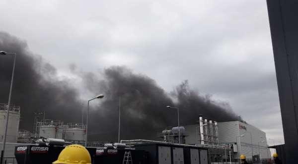 Kocaelide kimya fabrikasında patlama: 3 işçi yaralı