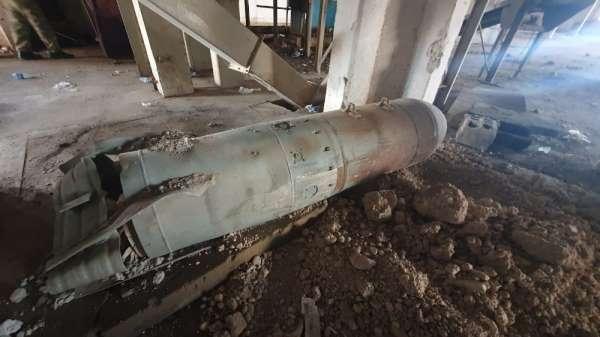 MSB: 'EYP yapımında kullanılmak üzere 11 adet patlamamış eski uçak mühimmatı imh