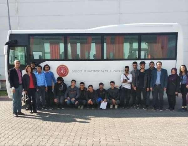 NEVÜ Hacıbektaş MYO Elektronik ve Otomasyon Bölümünden teknik gezi