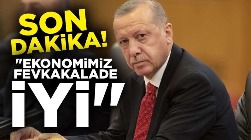 Recep Tayyip Erdoğan'dan ekonomi açıklaması