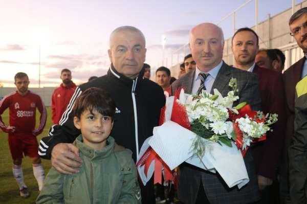Sivasspor'da neşeli idman