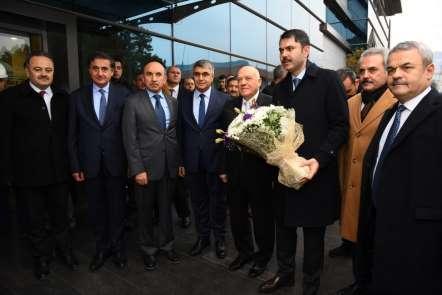 Çevre ve Şehircilik Bakanı Kurum KARDEMİR'de incelemelerde bulundu
