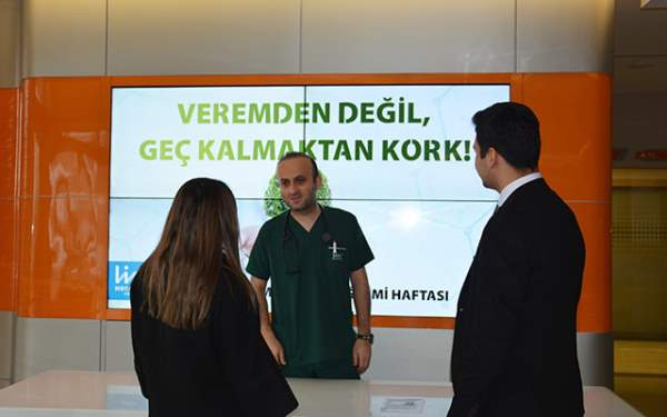 Samsun Haberleri: Liv Hospital Samsun'da Verem Farkındalığı
