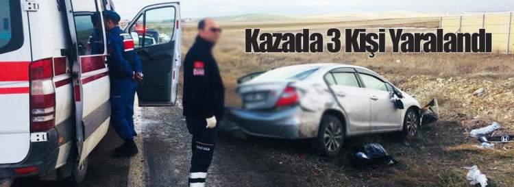 Aksaray'da Kaza: 3 yaralı