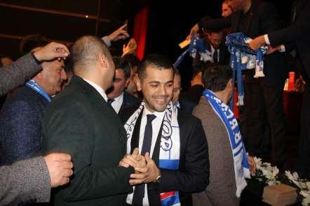 B.B. Erzurumspor'un yeni başkanı Hüseyin Üneş oldu