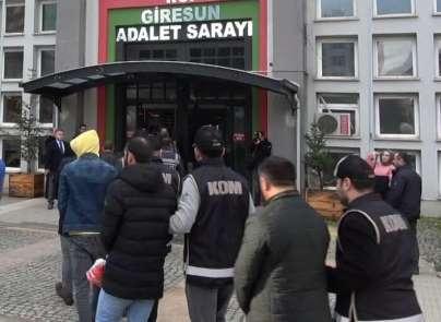 Giresun'da operasyon: 22 gözaltı