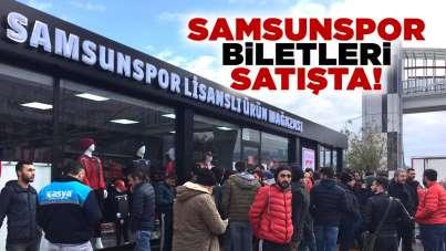 Samsunspor maç biletleri satışta!