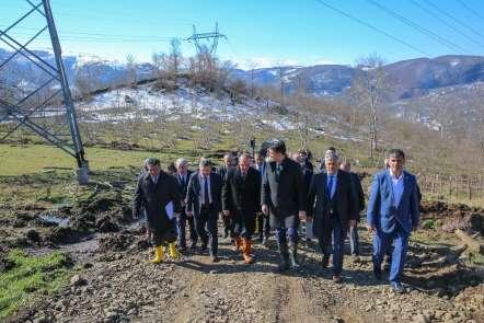 Vali Yavuz afet bölgesini inceledi