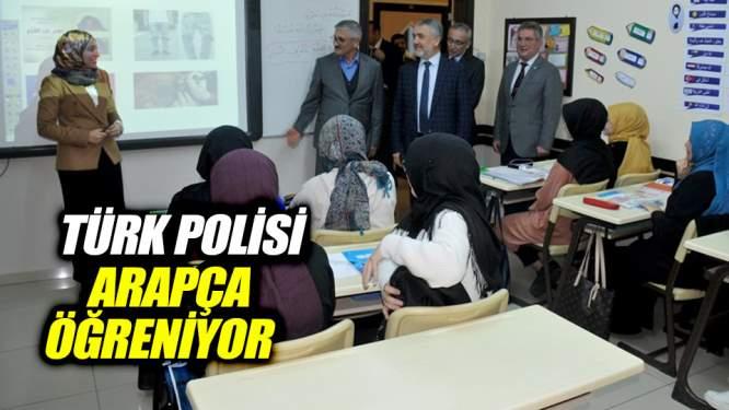 Türk polisi ADİM'de Arapça öğreniyor