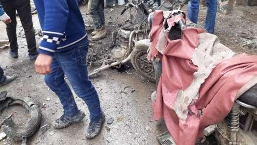 El-Bab'da patlama: 3 yaralı