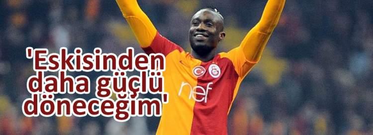 Diagne: 'Eskisinden daha güçlü döneceğim'