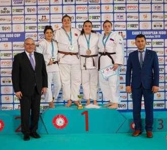 Salihlili judocular Avrupa Kupası'nda kürsüde