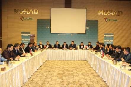 MÜSİAD Gaziantep'te yeni dönemin ilk inşaat sektör kurulu toplantısı